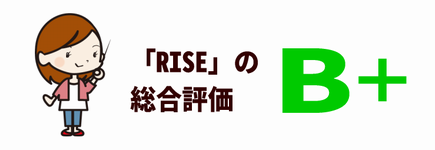 RISEの評価:A